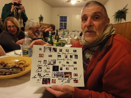 Anthony Gnazzo, celebrating his 75th birthday