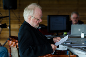 Louis Andriessen at the Djerassi Resident Artists Program in Woodside, CA