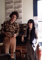 KPFA staffers Ron Erickson (left) and Susan Ohori at the radio station