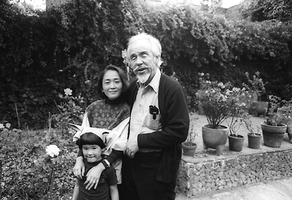 Conlon Nancarrow with wife Yoko and son Mako