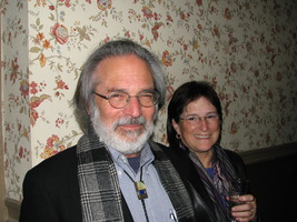 Richard Friedman & Victoria Shoemaker (l to r), at a reception following OM 14