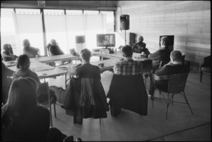 G. S. Sachdev's presentation during the Djerassi Resident Artists Program in Woodside, CA