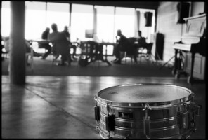 Han Bennink's snare drum in Woodside, CA