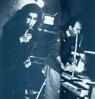 Sussan Deihim and Richard Horowitz (from the New Music America 1987 printed program)