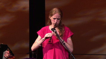 Recorder player Bolette Roed of Trio Gáman