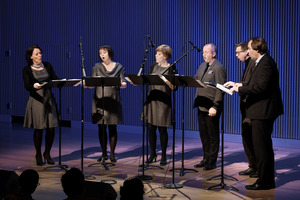 Nordic Voices performing during OM 21