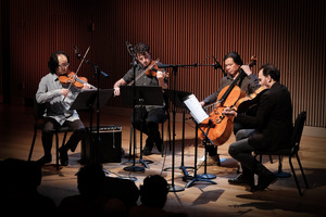 Flux Quartet performing during OM 21