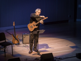 Larry Polansky performing his 34 Chords (Christian Wolff in Hanover and Royalton) during the second concert of OM 21