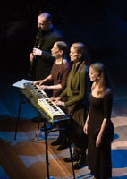 Meredith Monk and Vocal Ensemble performing during the third concert of OM 21
