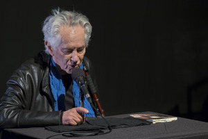Michael McClure during the first concert of OM 23